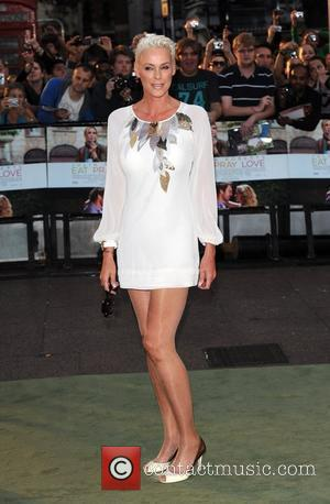 Brigitte Nielsen 'Eat, Pray, Love' UK film premiere held at the Empire Leicester Square. London, England - 22.09.10