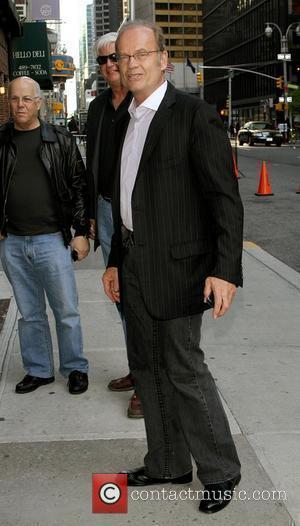 Kelsey Grammer and David Letterman