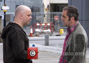 James Nesbitt and Director Colin Mccarthy