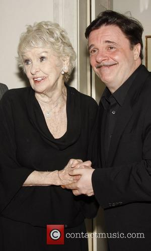 Elaine Stritch and Nathan Lane