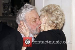 Stephen Sondheim and Elaine Stritch  Elaine Stritch's 85th Birthday Celebration at the Cafe Carlyle New York City, USA -...
