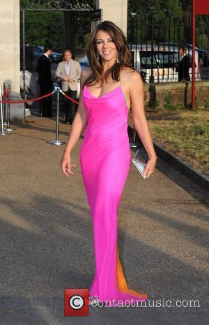 Liz Hurley Elephant Parade - auction held at the Royal Hospital Chelsea. London, England - 30.06.10