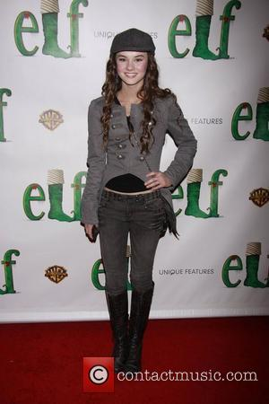 Madeline Carroll  Opening night of the Broadway musical production of 'Elf' at the Al Hirschfeld Theatre - Arrivals....
