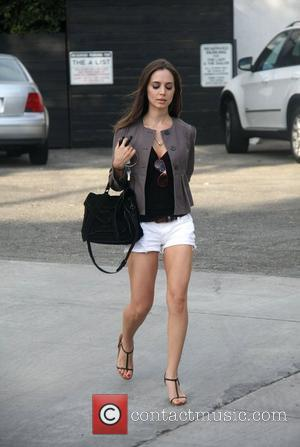 Eliza Dushku departs the Byron & Tracey salon  Los Angeles, California - 29.09.10