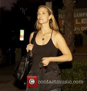 Elizabeth Berkley outside Urth Cafe on Melrose Avenue  Los Angeles, California, USA - 09.10.10