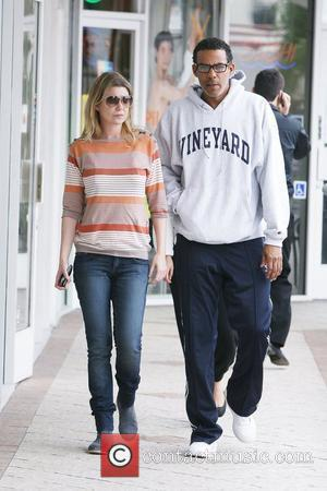 'Grey's Anatomy' star Ellen Pompeo and husband Christopher Ivery heading to Sushi Park in West Hollywood Los Angeles, California -...