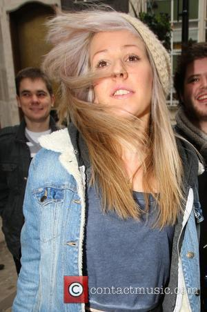 Ellie Goulding leaves the BBC Radio 1 studios after performing on the Live Lounge London, England - 23.02.10