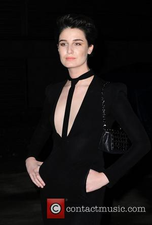 Erin O'Connor Elton John Aids Foundation Ball - Arrivals London, England - 30.10.10