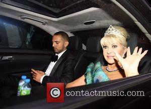 Ivana Trump and Elton John