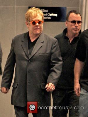 Elton John and Husband David Furnish