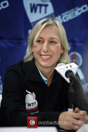 Navratilova's Surprise Auction