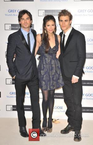 The cast of 'Vampire Diary' Grey Goose Character & Cocktails - winter fundraiser held at the Grosvenor House Hotel. London,...