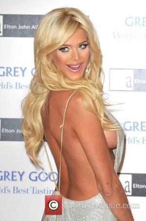 Victoria Silvstedt Grey Goose Character & Cocktails - winter fundraiser held at the Grosvenor House Hotel. London, England - 13.12.09