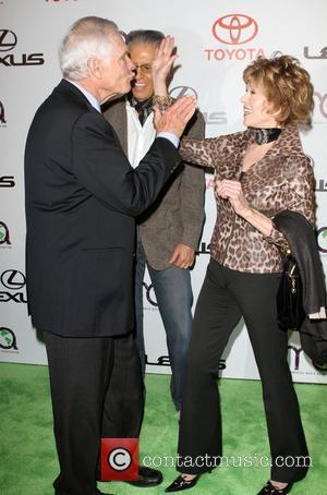 Ted Turner and Jane Fonda  20th Annual Environmental Media Awards held at Warner Bros. Studios  Burbank, California -...
