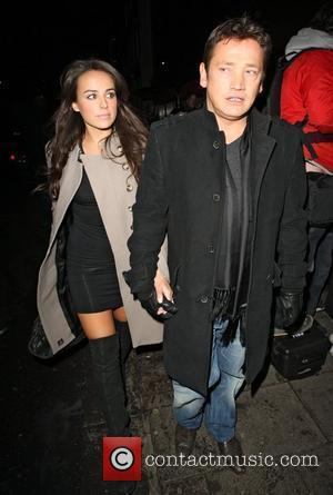 Sid Owen and Polly Parsons,  at the Christmas party held at Embassy nightclub. London, England - 06.12.10