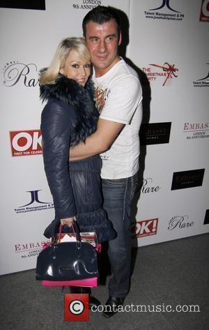 Joe Calzaghe and Kristina Rihanoff  at the Christmas party held at Embassy nightclub. London, England - 06.12.10