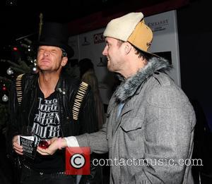 Matthew Pritchard and Lee Dainton of Dirty Sanchez leave Embassy Club Mayfair. London, England - 06.12.10