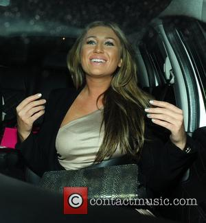 Lauren Goodger of The Only Way Is Essex leaves Embassy Club Mayfair. London, England - 07.12.10