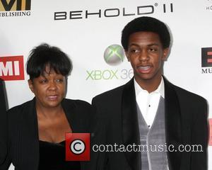 Anita Baker with her son The EMI Post Grammy Party 2010 held at the W Hotel Hollywood Los Angeles, California...