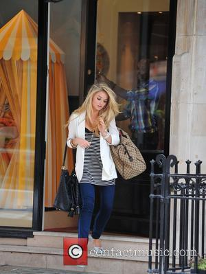 Emma Rigby leaving the Christian Louboutin store London, England - 07.07.10