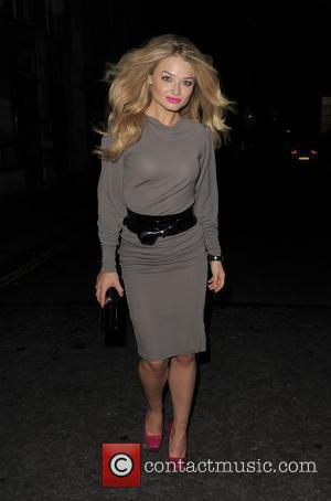 Former Hollyoaks star Emma Rigby leaves the Trafalgar Studios, having performed in the musical 'Wolfboy', in which she plays the...