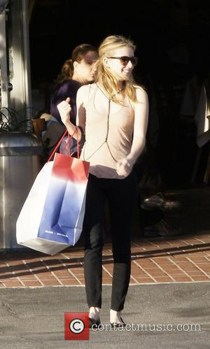 Emma Roberts and Fred Segal
