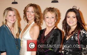 Cloris Leachman and Family  'Academy of Television Arts & Sciences' Hall of Fame Committee's 20th Annual Induction Gala held...
