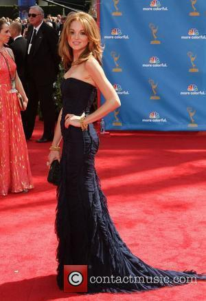 Jayma Mays The 62nd Annual Primetime Emmy Awards held at the Nokia Theatre L.A. Live - Arrivals Los Angeles, California...