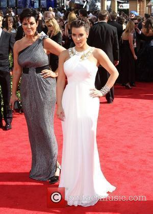 Kris Jenner, Kim Kardashian and Kim Kardashian