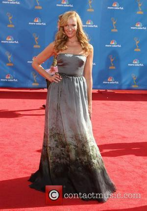 Toni Collette The 62nd Annual Primetime Emmy Awards held at the Nokia Theatre L.A. Live - Arrivals Los Angeles, California...
