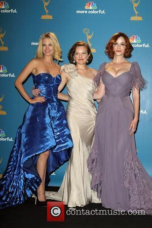Primetime Emmy Awards, January Jones, Christina Hendricks, Emmy Awards, Elizabeth Moss
