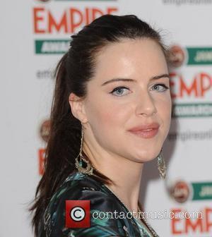 Michelle Ryan Jameson Empire Film Awards held at the Grosvenor House Hotel - Arrivals. London, England - 28.03.10