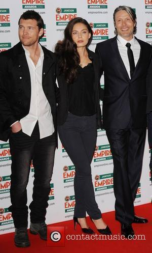 Sam Worthington, Alexa Davalos and Mada Mikkelsen  Jameson Empire Film Awards held at the Grosvenor House Hotel - Arrivals....