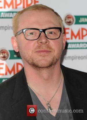 Simon Pegg  Jameson Empire Film Awards held at the Grosvenor House Hotel - Arrivals. London, England - 28.03.10