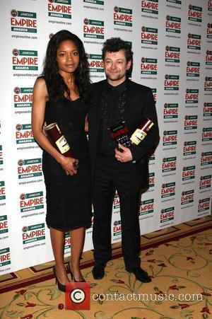 Naomie Harris and Andy Serkis