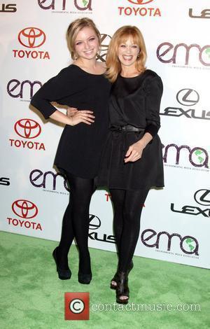 Francesca Fisher-Eastwood and Frances Fisher arrives to the 2010 Environmental Media Association Awards held at the Warner Bros. Studios Burbank,...