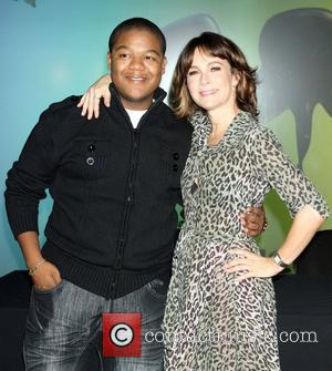Kyle Massey and Jennifer Grey
