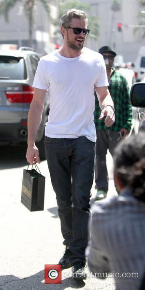 Eric Dane and Leaves