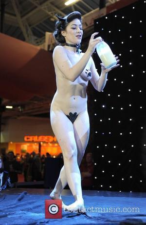 Kitty Bang Bang performs on the Main Stage Erotica 2010, held at Kensington Olympia London, England - 19.11.10