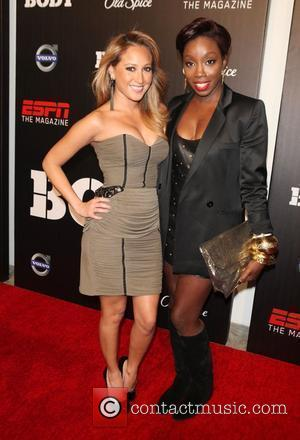 Adrienne Bailon and Estelle