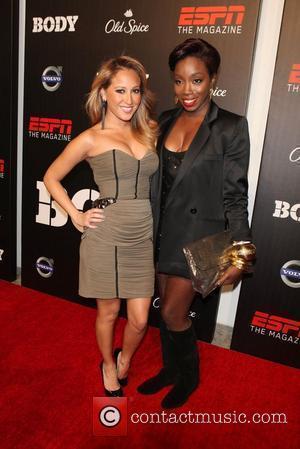 Adrienne Bailon and Estelle  ESPN The Magazine's Body Event at Skylight SOHO  New York City, USA - 12.10.10