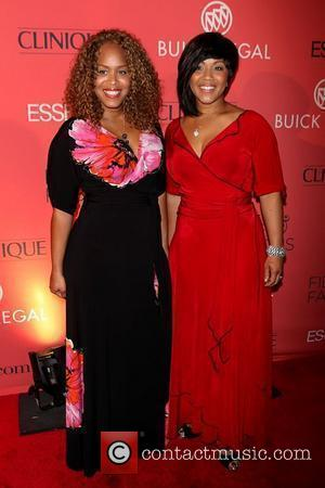 Erica Atkins-Campbell and Tina Atkins-Campbell of Mary Mary Essence magazine's '40th Anniversary Fierce & Fabulous Awards Luncheon' at Mandarin Oriental...