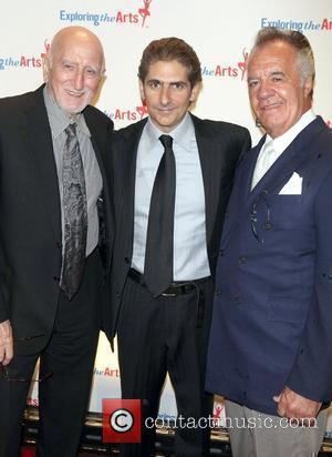 Dominic Chianese, Michael Imperioli and Tony Sirico attend the Exploring the Arts Gala at Cipriani, Wall Street New York City,...