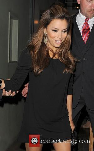 Eva Longoria leaving Soho House. London, England - 06.09.10