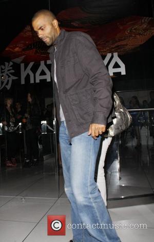 Tony Parker leaving Katsuya restaurant in Hollywood Los Angeles, California, USA - 16.08.10