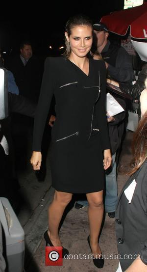Heidi Klum and Eva Longoria