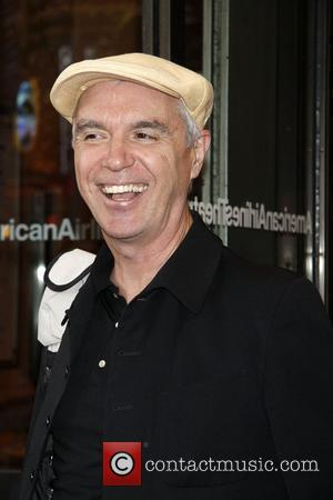 David Byrne The opening night of the Roundabout Theatre Company's Broadway production of 'Everyday Rapture' at the American Airlines Theatre....