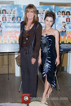 Linda Gray and Oleysa Rulin Movie Premiere of 'Expecting Mary' to benefit 'The Actors Fund' held at The Crosby Street...