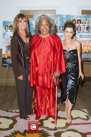 Linda Gray, Della Reese and Oleysa Rulin Movie Premiere of 'Expecting Mary' to benefit 'The Actors Fund' held at The...