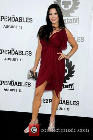 Christa Campbell Los Angeles Premiere of 'The Expendables' held at Grauman's Chinese Theatre - Arrivals Los Angeles, California - 03.08.10